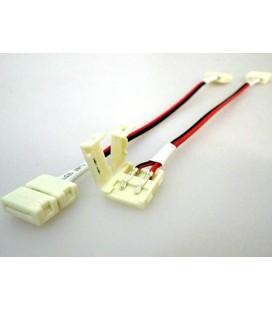 4 PZ Connettore 10mm Per Collegare Due Strip Led Smd 5050 Senza Saldare