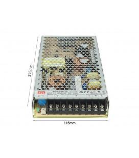 Alimentatore MeanWell CV 200W 16,7A RSP-200-12 Trasformatore Da AC 220V A DC 12V Per Luci Led Senza Ventola