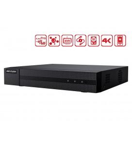 Videoregistratore DVR 16 Canali 5 In 1 HDTVI AHD CVI CVBS IP 16CH@4MP P2P Cloud H.265+ HiWatch HWD-6116MH-G2