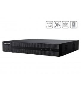 Videoregistratore DVR 16 Canali 5 In 1 TVI AHD CVI CVBS IP Turbo HD 16CH@2MP P2P Cloud H.265 Pro+ HiWatch HWD-5116M