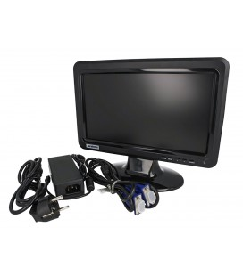 Monitor LCD TFT 10,1 Pollice 1024X600 Came XMST10HW Per Videoregistratore