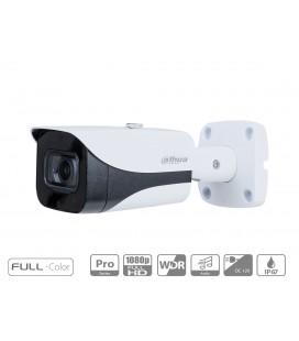 Telecamera Analogica Bullet 1080P 2MP Full Color Starlight 120dB True WDR 3DNR Ottica Fissa 3.6mm IP67 DC12V HDCVI Carcassa Plas