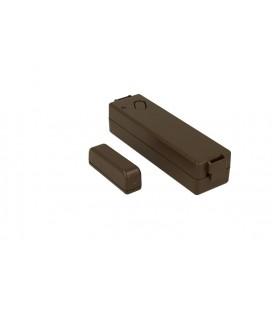 Contatto Magnetico Wireless Colore Marrone GT13.9.70M Per Antifurto GT Casa Alarm GT13.9 Rilevatore Contro L'Apertura di Porte F