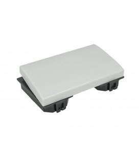 SANDASDON Copritasto Copriforo 3M Da 3 Moduli Compatibile Bticino Matix