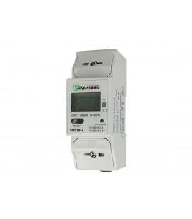 SANDASDON Contatore Di Energia Monofase Con Reset 2M Per Barra DIN