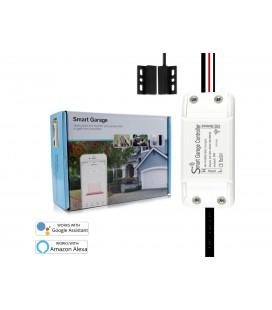 Kit Smart WiFi Garage Opener Apri Saracinesca Serrande Porta Apricancello APP Tuya Smart Life Compatibile Con Alexa e Google Hom